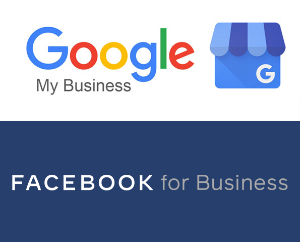 google my business facebook for business dms